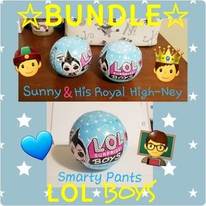 Bundle LOL Surprise! Boys 👲🤴👨‍🏫